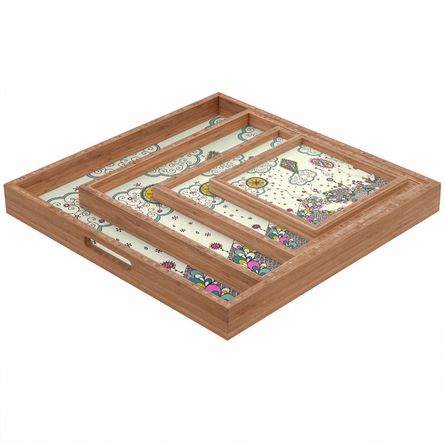 Kites to the Sky Square Tray