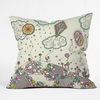 Kites to the Sky Throw Pillow
