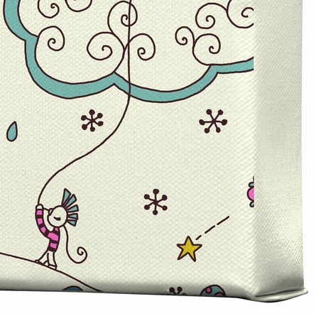 Kites to the Sky Wrapped Canvas Art