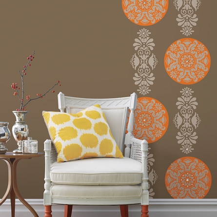 Kolkata Stripe Wall Decals