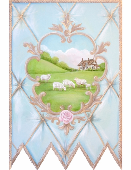La Belle Campagne Personalized Wall Hanging