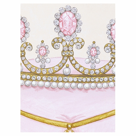 La Belle Couronne I Canvas Reproduction - Contemporaine Blush