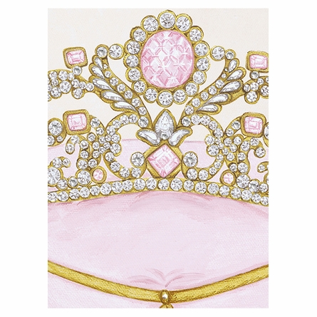 La Belle Couronne IV Canvas Reproduction - Contemporaine Blush