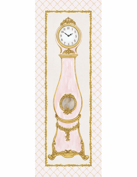 La Belle Horlange Canvas Reproduction - Classique Pink