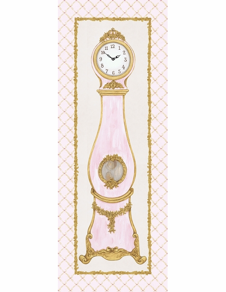 La Belle Horlange Canvas Reproduction - Contemporaine Blush