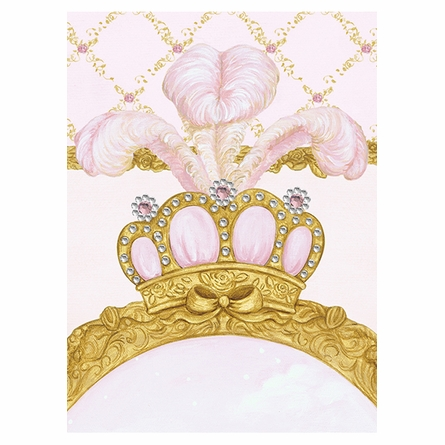 La Belle Princesse Canvas Reproduction - Contemporaine Blush