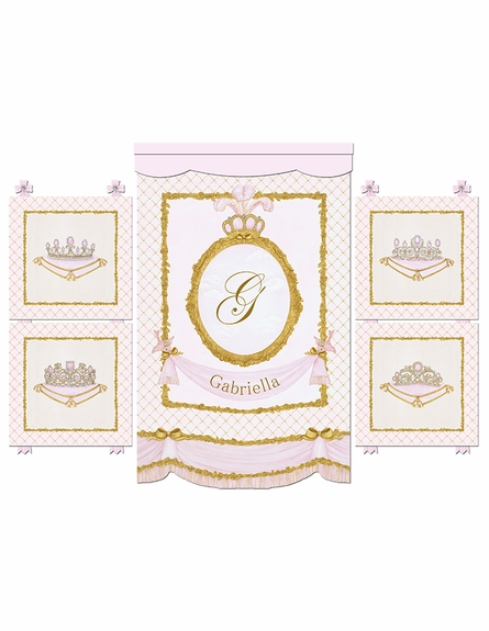 La Belle Princesse Wall Hanging - Contemporaine Blush