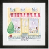 La Patisserie Framed Art Print