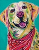 Labrador Retriever Dog Wall Art