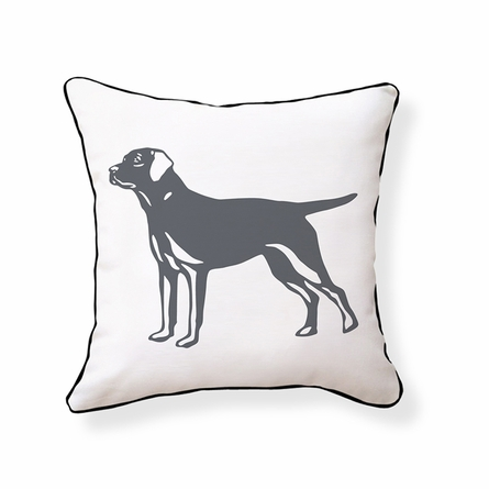 Labrador Retriever Reversible Throw Pillow