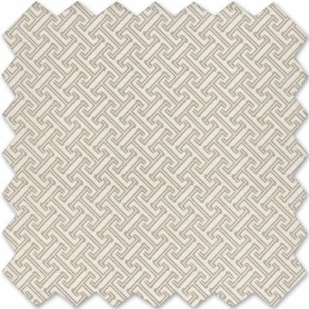 Labyrinth Tan Crib Sheet