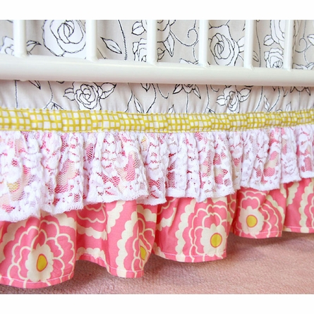 Lacey Rose Crib Bedding Set