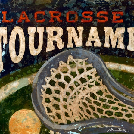 Lacrosse Tournament Canvas Wall Art