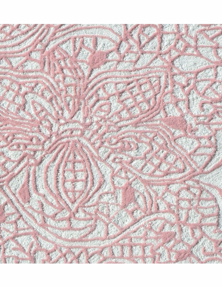 Lacy Pink Rug
