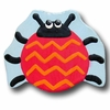 Lady Bug Red and Blue Back Drawer Pull