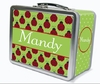 Lady Bugs Personalized Lunch Box