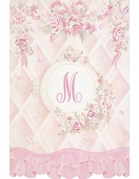 Lady Catherine's Roses Personalized Wall Hanging