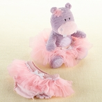 Lady Lulu and Baby's Tutu Plush Plus and Bloomer for Baby