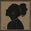Lady Silhouette 3 Framed Wall Art