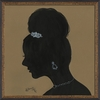 Lady Silhouette 7 Framed Wall Art