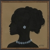 Lady Silhouette 8 Framed Wall Art