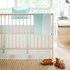 Lagoon Stripe Crib Sheet