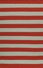 Laguna Stripes Red Rug