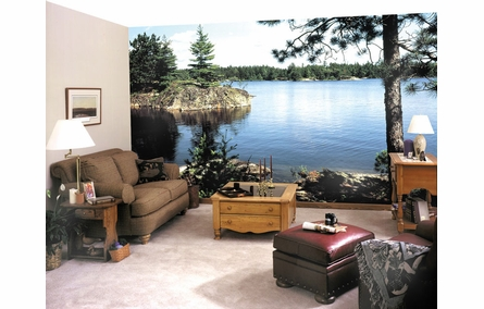 Lake in the Woods Wall Mural