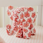 Lali Pink Elephant Accent Pillow