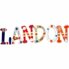 Landon Team Sports Hand Painted Wall Letters