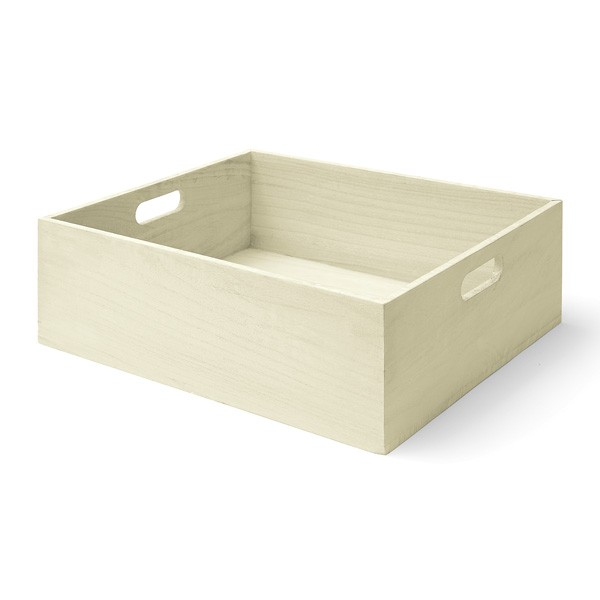 Toy Box Large Solid Wood Storage Chest Trunk Playroom: Large All-Purpose Wooden Storage Box