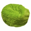 Large Beanbag in Lime Green Fuzzy Fur