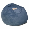 Large Beanbag in Ocean Blue Microsuede