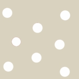 Large Beige Dots (622)