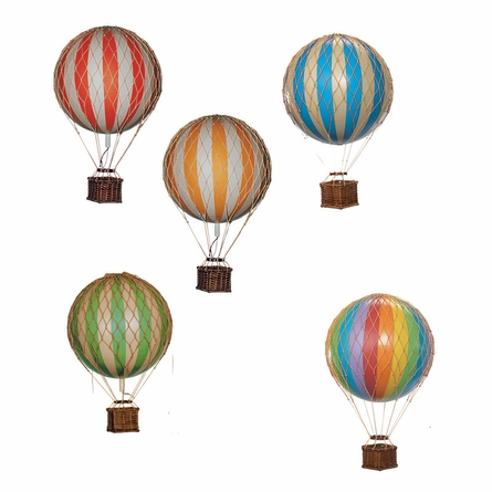 Large Hot Air Balloon Model in Rainbow