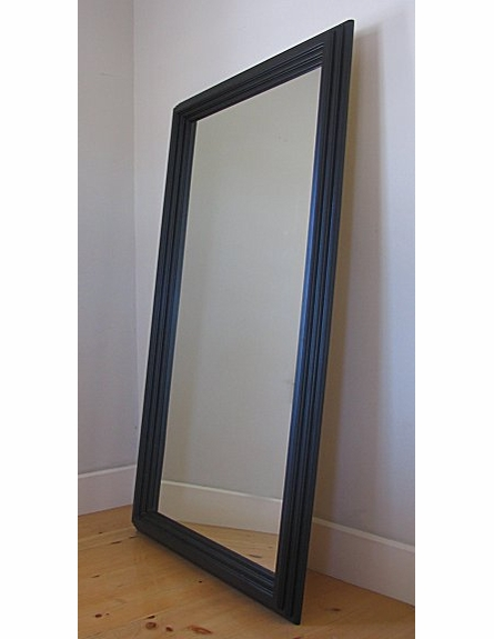 Large Pine Framed Mirror