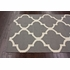 Large Trellis Rug in Gray
