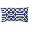 Lattice Accent Pillow