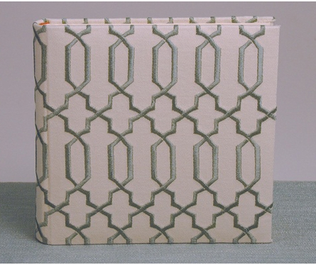 Lattice Photo Album in Blue