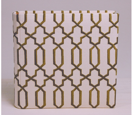 Lattice Photo Album in Green