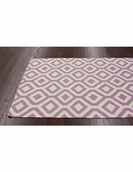 Lattice Rug in Lavender