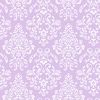 Lavender Delicate Damask Wallpaper