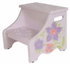 Lavender Flower Step Stool