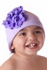 Lavender Geranium Cotton Hat
