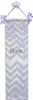 Lavender Graceful Chevron Growth Chart