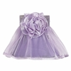 Lavender Rose Ruffled Sheer Chandelier Shade