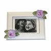 Lavender Roses with Bling Picture Frame