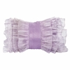 Lavender Ruffle Pillow