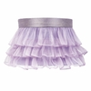 Lavender Ruffled Sheer Large Shade