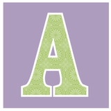 Lavender with Green